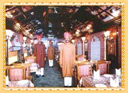 Facilities on Palace on Wheels